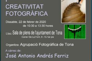 Xerrada «Composició i creativitat fotogràfica»