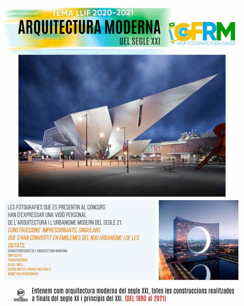 Juny 2022: Arquitectura moderna del segle XXI